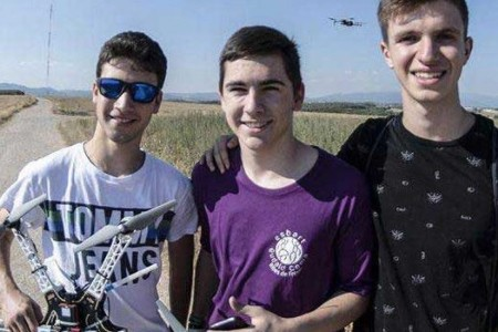3 alumnes de Batx. de Sant Gervasi guanyen el Nobel Júnior de l'Aigua