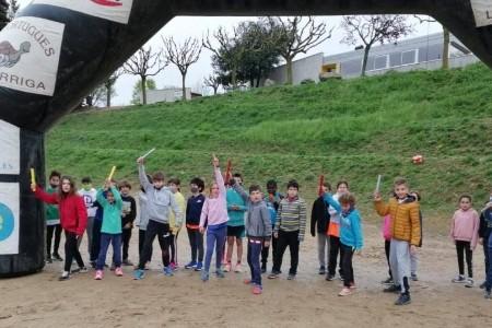 Els alumnes del Ginebró recorren 1.034 km i recapten 3.846€ a la Cursa contra la Fam