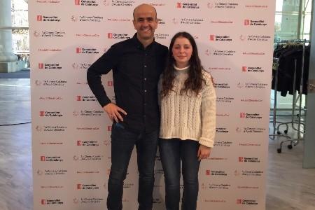 Una alumna del Ginebró participa a la 1a Cimera Catalana d'Acció Climàtica