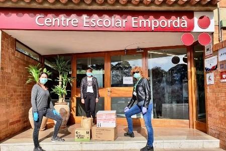 Al C.E.Empordà fan mascaretes en 3D