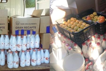 Escola Peter Pan - Fundació Els Arcs lliuren aliments