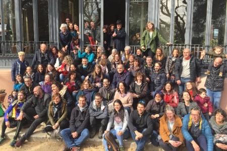 Prop de 400 persones participen en la trobada de l'Escola Ginebró a Can Bordoi