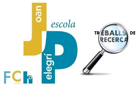 Premiats tres Treballs de Recerca de l'Escola Joan Pelegrí amb el Premi de Recerca Jove