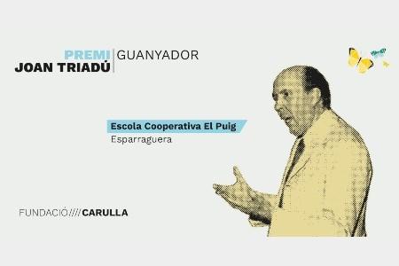 L'Escola El Puig guanyadora del Premi Joan Triadú