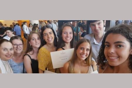 Sis alumnes de l'Escola Sant Gervasi reben Distincions de les PAU 2019